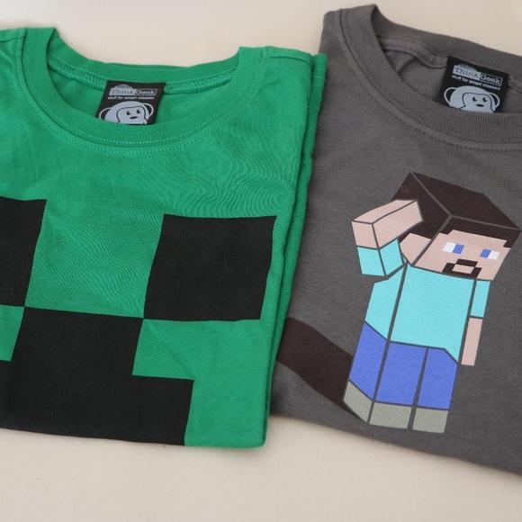 ThinkGeek Other - Minecraft Kid's T-Shirts Small - Brand New